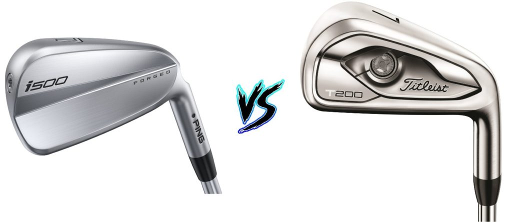 Ping i500 Irons vs Titleist T200 Irons