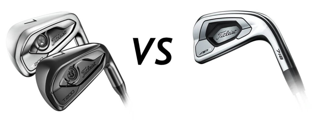 Titleist T200 vs Titleist AP3 Irons