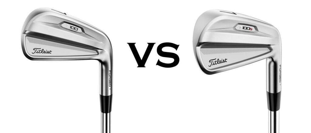 Titleist T100 vs T100S Irons Comparison